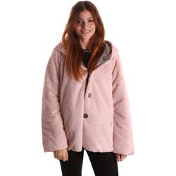 Vêtements Femme Parkas Byblos Blu 689104 Rose
