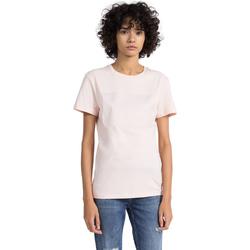 Vêtements Femme T-shirts manches courtes Calvin Klein Jeans J20J207949 Rose