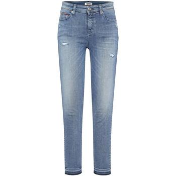 Vêtements Femme Jeans boyfriend Tommy Hilfiger DW0DW05011 Bleu