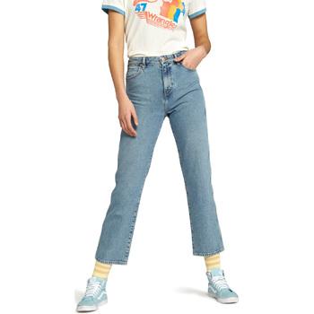 Vêtements Femme Jeans droit Wrangler W238GF Bleu