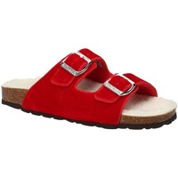 Chaussures Femme Mules Grunland CB1679 Rouge