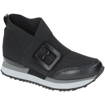 Chaussures Femme Baskets montantes Apepazza RSD19 Noir
