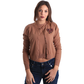 Vêtements Femme Gilets / Cardigans Denny Rose 821DD50100 Beige