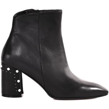 Chaussures Femme Bottines Melluso Z940 Noir