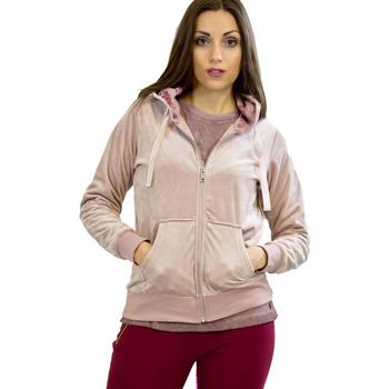 Vêtements Femme Sweats Key Up 5CS57 0001 Rose