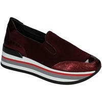 Chaussures Femme Slip ons Grace Shoes X609 Rouge