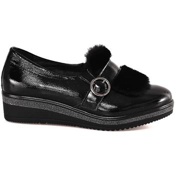 Chaussures Femme Mocassins Grunland SC3148 Noir