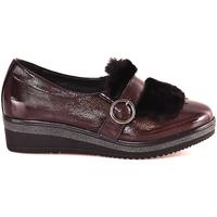 Chaussures Femme Mocassins Grunland SC3148 Rouge