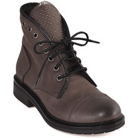 Chaussures Femme Boots Mally 5037 Marron
