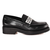 Chaussures Femme Mocassins Mally 5896 Noir