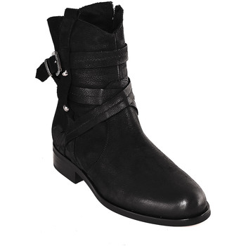 Chaussures Femme Bottines Mally 6431 Noir