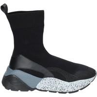 Chaussures Femme Baskets montantes Studio Italia STAR 04 Noir