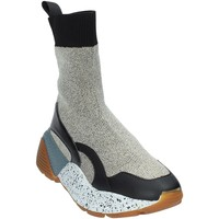 Chaussures Femme Baskets montantes Studio Italia STAR 04 Or