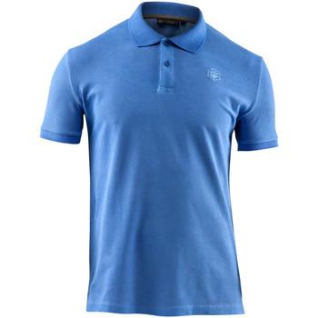 Vêtements Homme Polos manches courtes Lumberjack CM45940 007 516 Bleu