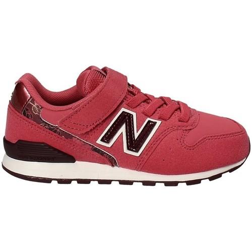 New Balance NBKV996F2Y Rouge - Chaussures Baskets basses Enfant 35 ...