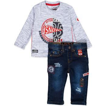 Vêtements Garçon Ensembles enfant Losan 827-8013AC Bleu