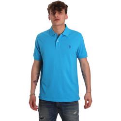 Vêtements Homme Polos manches courtes U.S Polo Assn. 55957 41029 Bleu