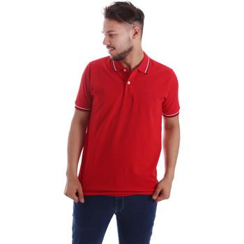 Vêtements Homme Polos manches courtes Key Up 2Q70G 0001 Rouge