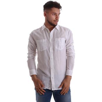 Vêtements Homme Chemises manches longues Gas 151150 Blanc