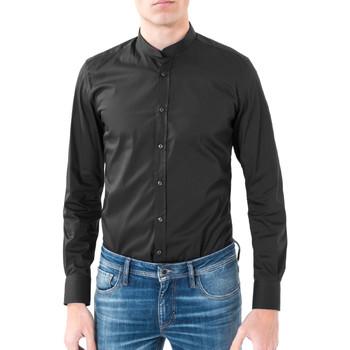 Vêtements Homme Chemises manches longues Antony Morato MMSL00376 FA450001 Noir