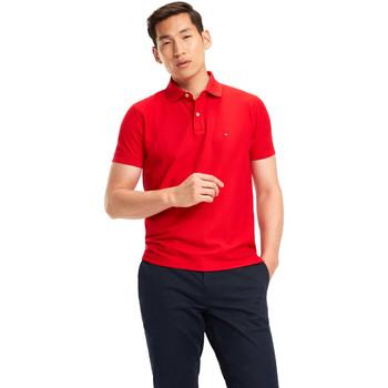 Vêtements Homme Polos manches courtes Tommy Hilfiger MW0MW09731 Rouge