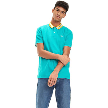 Vêtements Homme Polos manches courtes Tommy Hilfiger DM0DM06022 Bleu