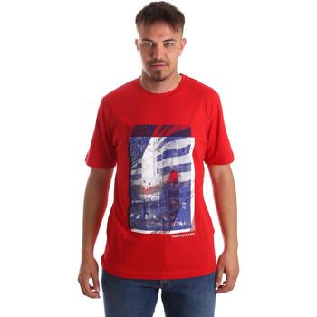 Vêtements Homme T-shirts manches courtes Calvin Klein Jeans J30J312285 Rouge