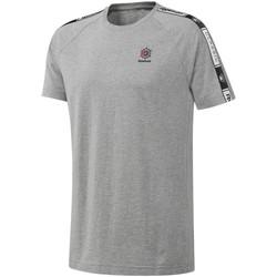 Vêtements Homme T-shirts manches courtes Reebok Sport DT8146 Gris