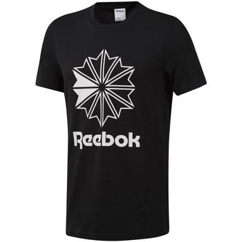 Vêtements Homme T-shirts manches courtes Reebok Sport DT8171 Noir