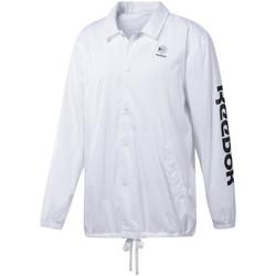Vêtements Homme Vestes de survêtement Reebok Sport DT8203 Blanc