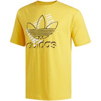 Vêtements Homme T-shirts manches courtes adidas Originals DV3280 Jaune