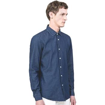 Vêtements Homme Chemises manches longues Antony Morato MMSL00520 FA440019 Bleu