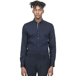 Vêtements Homme Chemises manches longues Antony Morato MMSL00523 FA450001 Bleu