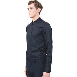 Vêtements Homme Chemises manches longues Antony Morato MMSL00525 FA440012 Bleu