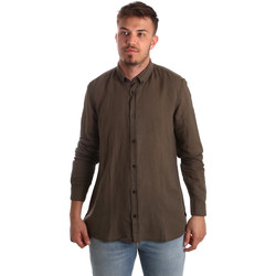 Vêtements Homme Chemises manches longues Antony Morato MMSL00530 FA400051 Marron