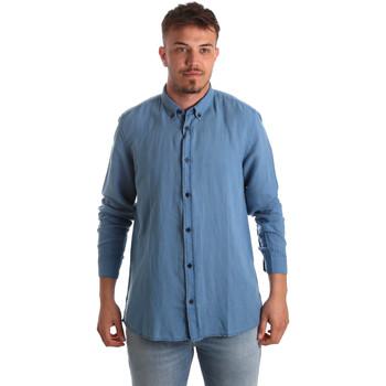 Vêtements Homme Chemises manches longues Antony Morato MMSL00530 FA400051 Bleu