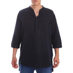 Vêtements Homme Chemises manches longues Antony Morato MMSL00531 FA400051 Bleu