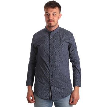 Vêtements Homme Chemises manches longues Antony Morato MMSL00532 FA430370 Bleu