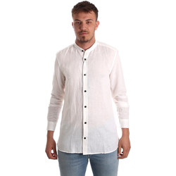 Vêtements Homme Chemises manches longues Antony Morato MMSL00547 FA400051 Blanc