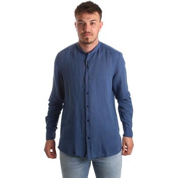 Vêtements Homme Chemises manches longues Antony Morato MMSL00547 FA400051 Bleu