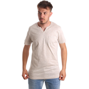 Vêtements Homme T-shirts manches courtes Antony Morato MMKS01487 FA100139 Beige