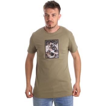 Vêtements Homme T-shirts manches courtes Antony Morato MMKS01551 FA100144 Vert