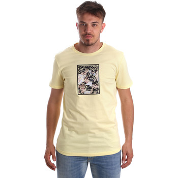 Vêtements Homme T-shirts manches courtes Antony Morato MMKS01551 FA100144 Jaune