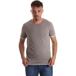 Vêtements Homme T-shirts manches courtes Gaudi 911FU53007 Gris