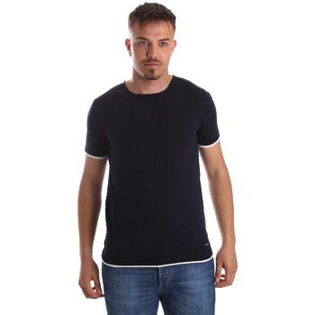 Vêtements Homme T-shirts manches courtes Gaudi 911FU53007 Bleu