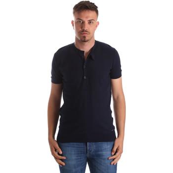 Vêtements Homme T-shirts manches courtes Gaudi 911FU53008 Bleu