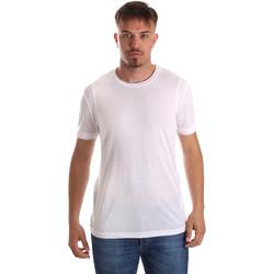 Vêtements Homme T-shirts manches courtes Gaudi 911FU64005 Blanc