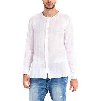 Vêtements Homme Chemises manches longues Gaudi 911BU45002 Blanc