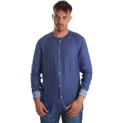 Vêtements Homme Chemises manches longues Gaudi 911BU45002 Bleu