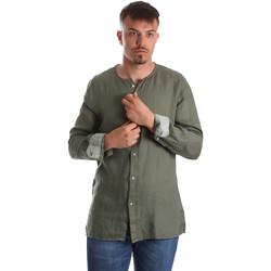 Vêtements Homme Chemises manches longues Gaudi 911BU45002 Vert